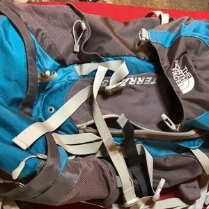 The North Face backpacking backpack